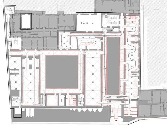 Il nuovo Museo degli Innocenti,  Firenze (pianta) - Progetto: Ipostudio