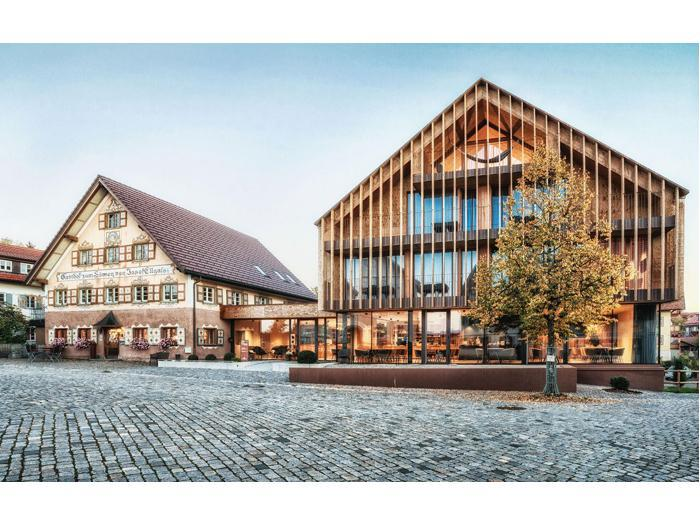Ellgass Allgaeu Hotel ad Argenbuehl (Germania) – Progetto Markus Tauber Architectura