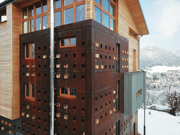 Residenza privata a Clusone (Bg) - Progetto: Edoardo Milesi & Archos - Foto: Cristian Carrara