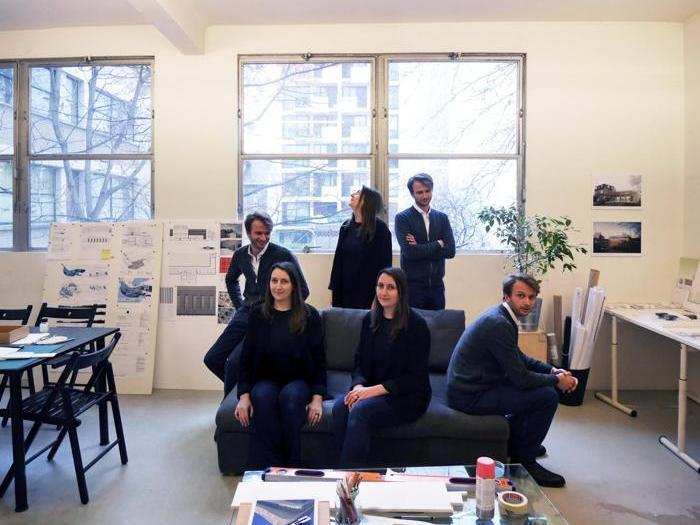 Gli architetti dello Studio Graal di Montreuil