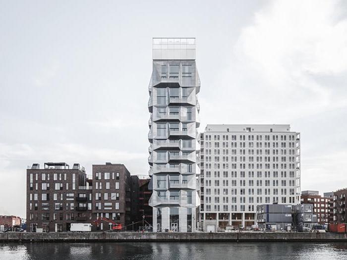 The Silo a Copenhagen - Progetto: Cobe - Altezza: 65 m