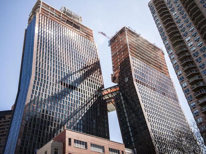 American Copper Building a New York - Progetto: SHoP Architects - Altezza: 164,6 m