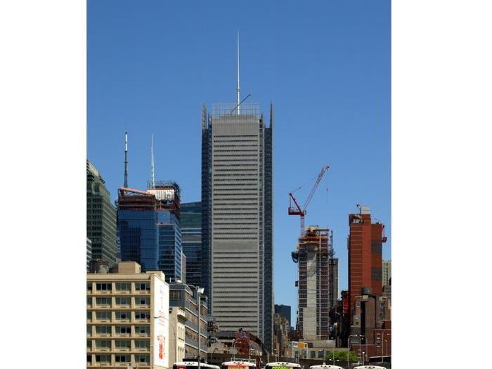New York Times Tower a New York - Progetto: FXFOWLE; Renzo Piano Building Workshop - Altezza: 318,8 m