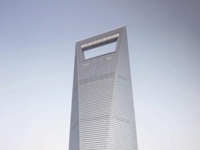 Shanghai World Financial Center a Shanghai - Progetto: Leslie E. Robertson Associates - Altezza: 494,3 m