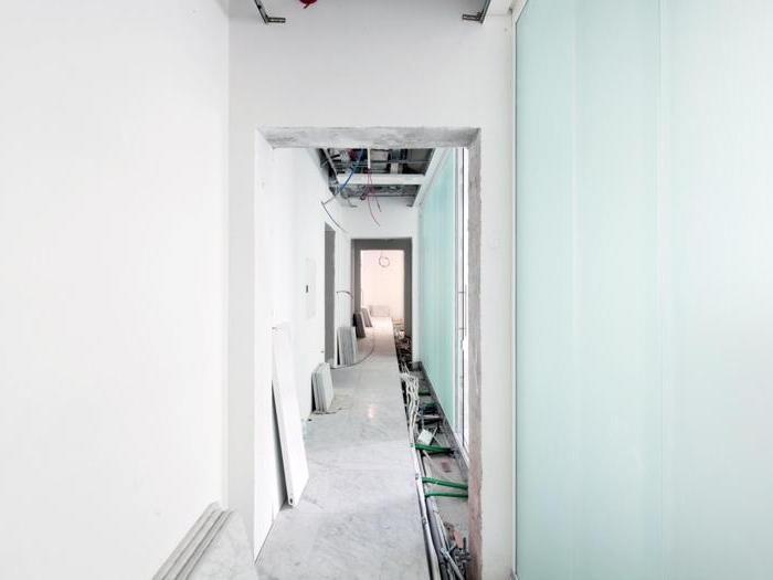 Cantiere della nuova sede nazionale di Confcooperative, in via Torino a Roma - Foto: Francesco Mattuzzi