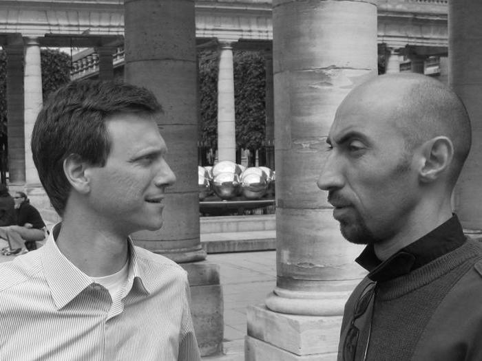 Gli architetti: Paolo Iotti (Reggio Emilia 1973) e Marco Pavarani (Parma 1973)