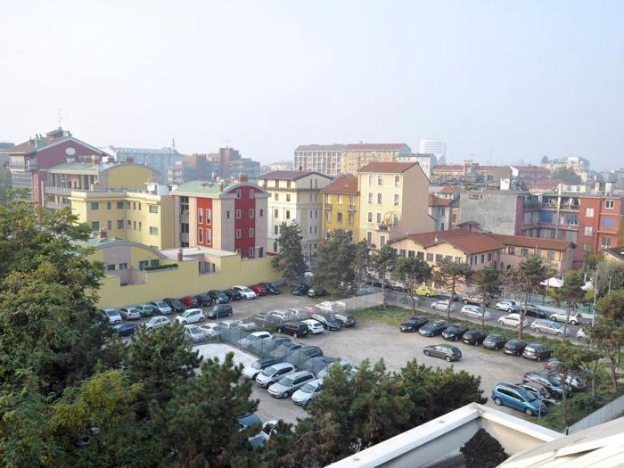 Parcheggio di via Serio