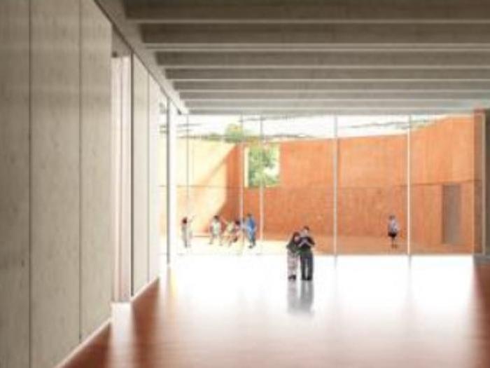 Render della proposta per la scuola Sud di Palermo - Progetto vincitore: Franco Tagliabue (ifdesign)