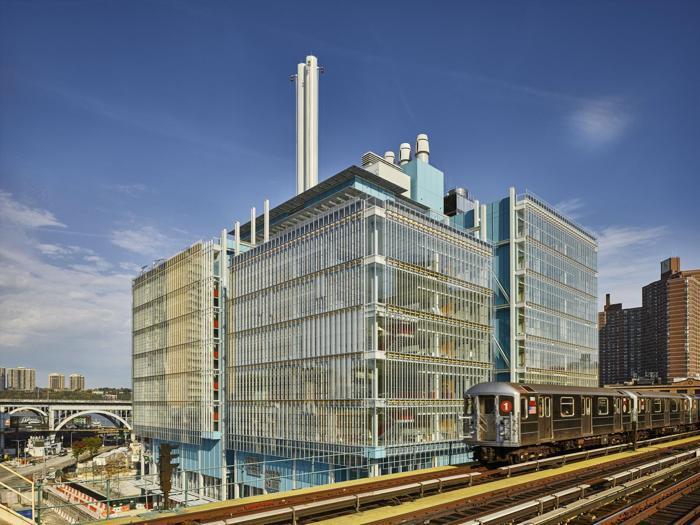 Il  Jerome L. Greene Science Center (visto dalla 125esima strada)  a New York - Progetto: Renzo Piano Building Workshop - Foto:  Columbia University/Frank Oudeman