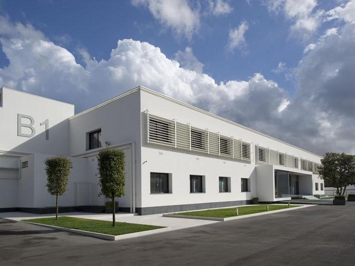 La sede della conceria Russo a Casandrino (Na) - Progetto di ristrutturazione di Massimo Russo