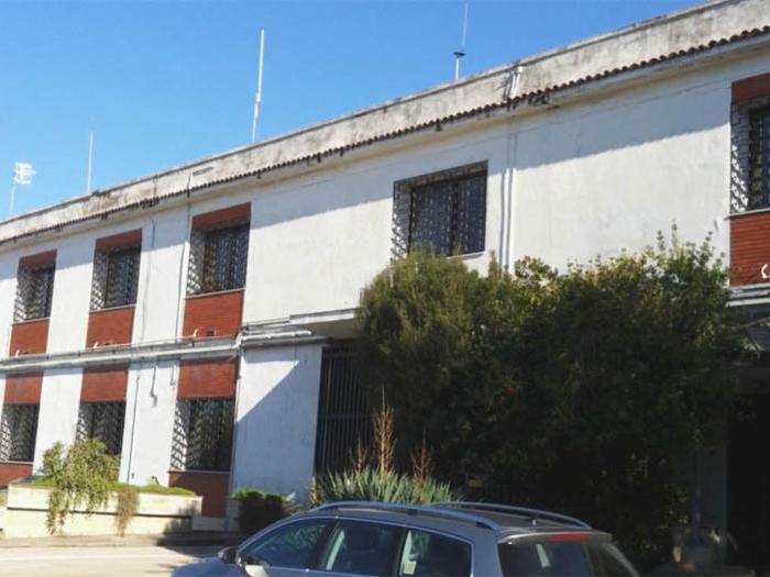 La sede della conceria Russo a Casandrino (Na) - L'edificio prima della ristrutturazione
