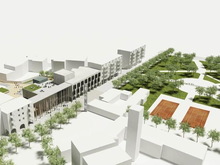 Ufficio Web Architetti Sassari : Ad alghero e bono ss le scuole di quartiere firmate bargone