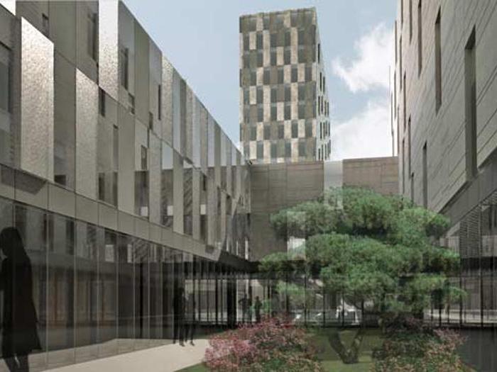 Ufficio Stampa Architettura Milano : Milano posata la prima pietra della nuova sede siemens firmata