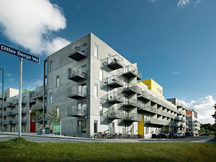 CF Møller Architechts. Henius House, Aalborg
