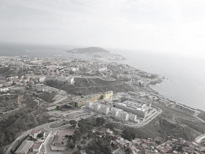 SV60 Arquitectos 317 Social Housing units in Loma de Colmena